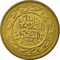 Monnaie, Tunisie, 20 Millim, 1983, Paris, TTB, Laiton, KM:307 - Tunisie