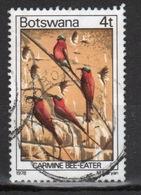 Botswana 1978 Single 4t Definitive Stamp From The Birds Set. - Botswana (1966-...)