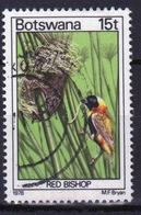 Botswana 1978 Single 15t Definitive Stamp From The Birds Set. - Botswana (1966-...)