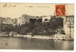 Carte Postale Ancienne Bastia - La Citadelle, Prise Au Large - Bastia