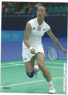 CP Hongyan Pi Equipe De France Féminine Badminton Editions FFBA 2005 - Sonstige