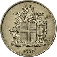 Monnaie, Iceland, 5 Kronur, 1970, TB+, Copper-nickel, KM:18 - Iceland