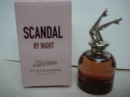 """GAULTIER """" SCANDAL BY NIGHT"""" MINI  EDP INTENSE 6 ML  LIRE ET VOIR!! - Miniatures Modernes (à Partir De 1961)"""