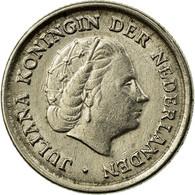 Monnaie, Pays-Bas, Juliana, 10 Cents, 1963, TB+, Nickel, KM:182 - [ 3] 1815-… : Kingdom Of The Netherlands