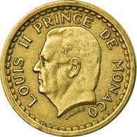Monnaie, Monaco, Louis II, Franc, Undated (1943), TTB, Aluminium, Gadoury:132 - 1922-1949 Louis II