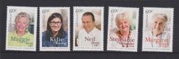 Australia ASC 3163-3168 2014 Legends Of Cooking,mint Never Hinged - 2010-... Elizabeth II