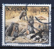 Botswana 1992 Single 25t Definitive Stamp From The Animals Set. - Botswana (1966-...)