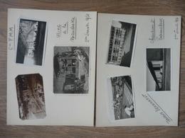 12 PHOTOS Du Chantier De L'USINE HYDROELECTRIQUE De La MANDRAKA (Madagascar) De 1930/31 - Lieux