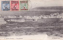 CPA Occupation Maroc Par La Grande-Bretagne -  1914 - Saffi - Vue Générale - Edit. H. Mazué - Recommandé - Beaux Cachets - Autres