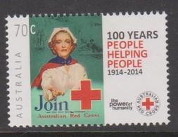 Australia ASC 3199 2014 Red Crossmint Never Hinged - 2010-... Elizabeth II