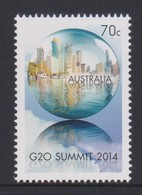 Australia ASC 3204 2014 Leaders Summit G20,mint Never Hinged - 2010-... Elizabeth II
