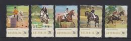 Australia ASC 3213-3217 Equestrian Events,mint Never Hinged - 2010-... Elizabeth II