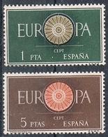 ESPAGNE N°975 ET 976 N**  EUROPA - 1951-60 Nuovi