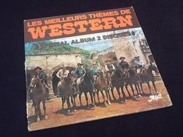 Album Vinyle (2x33 Tours) Les Meilleurs Thèmes De Western  (1978) - Vinyles