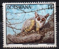 Botswana 1992 Single P1 Definitive Stamp From The Animals Set. - Botswana (1966-...)