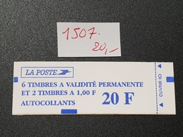 Carnet  N° 1507  Neuf **  TTB - Carnets