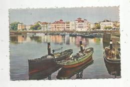 Cp , 64 , SAINT JEAN DE LUZ , LA DOUCE FRANCE , Côte Basque , Le Port Et Quai De L'infante , Vierge , Ed. Yvon - Saint Jean De Luz