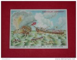 "- 21 - CHROMO CHOCOLAT LOMBART ""AU FIDELE BERGER"" : LA MARINE - Lombart"