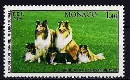"Monaco YT 1280 "" Exposition Canine "" 1981 Neuf** - Monaco"