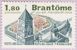 N° Yvert & Tellier 2253 - Timbre De France (Année 1983) - MNH - Brantôme En Périgord - Francia