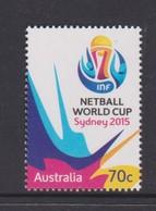 Australia ASC 3319 2015 Netball World Cup,mint Never Hinged - 2010-... Elizabeth II