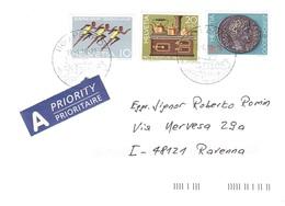 LETTERA X ITALY CON PRO JUVENTUTE 1983 - Svizzera