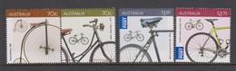 Australia ASC 3343-3346 2015 Bicycles,mint Never Hinged - 2010-... Elizabeth II