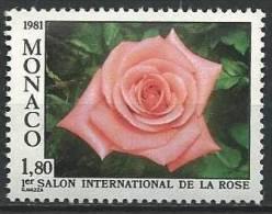 """Monaco YT 1297 """" Salon De La Rose """" 1981 Neuf** - Monaco"""