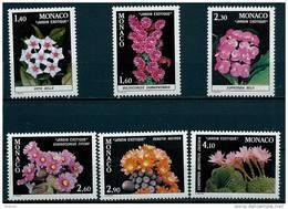 """Monaco YT 1306 à 1311 """" Plantes Du Jardin Exotique """" 1982 Neuf** - Monaco"""