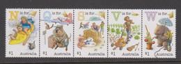Australia ASC 3384-3388 2016 Fair Dinkum Aussie Alphabet Part I,mint Never Hinged - 2010-... Elizabeth II