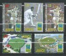 Jamaica 2007 ICC Cricket World Cup, West Indies.Courtney Walsh,sport. MNH - Giamaica (1962-...)