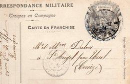 CP - Correspondance Militaire-Troupes En Campagne-  Allégorie:- - Marcophilie (Lettres)