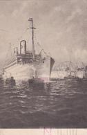 CPA GÖTEBORG - NEW-YORK - 1935 - Timbre N° 230A - Suède