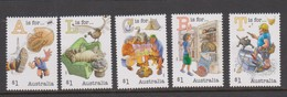 Australia ASC 3424-3428 Aussie Alphabet Part II,mint Never Hinged - 2010-... Elizabeth II