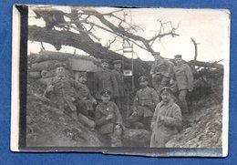 Petite Photo  -  Soldats Dans Une Tranchée  ( Allemagne ) - War 1914-18