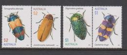 Australia ASC 3429-3432 2016 Jewel Beetles,mint Never Hinged - 2010-... Elizabeth II