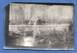 Petite Photo  -    Tank Au Front - War 1914-18