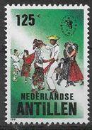 1991 ANTILLES NEERLANDAISES 907 ** Espamer, Danseur - Antilles