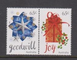 Australia ASC 3449-3450 2016 Christmas, Mint Never Hinged - 2010-... Elizabeth II