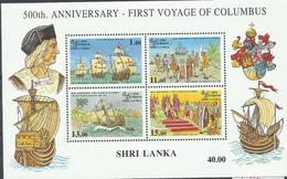 SRI LANKA YVERT H/B 48   MNH  ** - Sri Lanka (Ceilán) (1948-...)