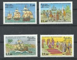 SRI LANKA YVERT  1006/9    MNH  ** - Sri Lanka (Ceilán) (1948-...)