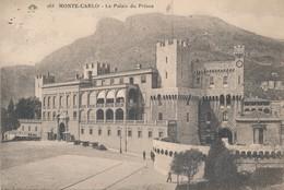 CPA - Monaco - Monte-Carlo - Le Palais Du Prince - Monte-Carlo