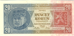 Czechoslovakia, 20 Korun, 1926, SPECIMEN,  Narodna Banka Češkoslovenska, Dvacet Korun, Zwanzig Kronen - Tchécoslovaquie