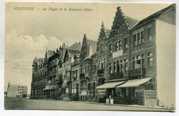 CPA - Carte Postale - Belgique - Westende - La Digue Et Le Westende Hôtel  (M7183) - Westende