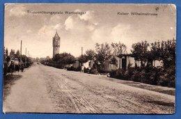 Warthelager - Truppenübungsplatz -- 1918 - Polonia