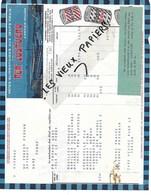 "38 - Isère - GRENOBLE - Facture CARTIER-MILLON - Pâtes ""LUSTUCRU"" - 0000 - REF 118B - 1900 – 1949"