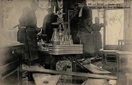 75 - PARIS - Crue De La Seine - Janvier 1910  - Un Café Inondé Angle Rue Gros Et Félicien David - La Crecida Del Sena De 1910