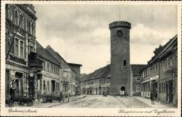 Cp Dahme In Der Mark, Hauptstraße Mit Vogelturm - Sonstige