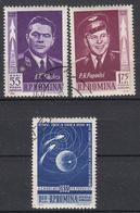 ROEMENIË - Michel - 1962 - Nr 2096/98 - Gest/Obl/Us - Oblitérés