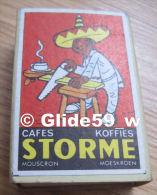 Boîte D'allumettes - Cafés - Koffies - STORME - Mouscron - Moeskroen - Mexicain Menuisier (pleine) - Boites D'allumettes